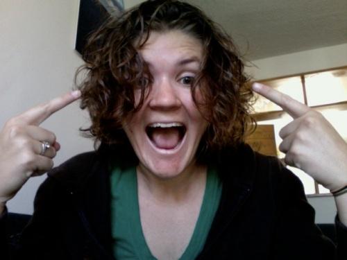 AH SHORT HAIR!
