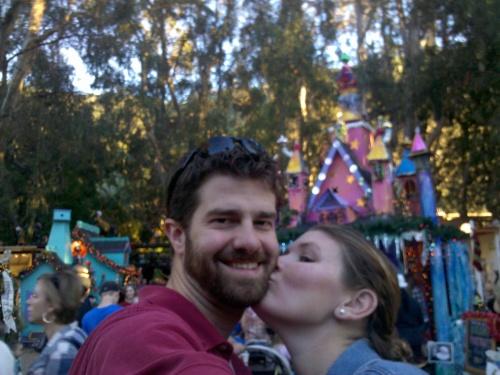 Princess castle! Hot fella! Dare I say a kiss is in order.
