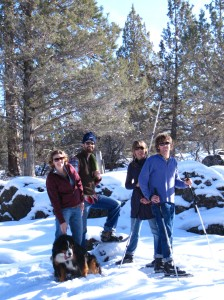 snowshoeing southern oregon